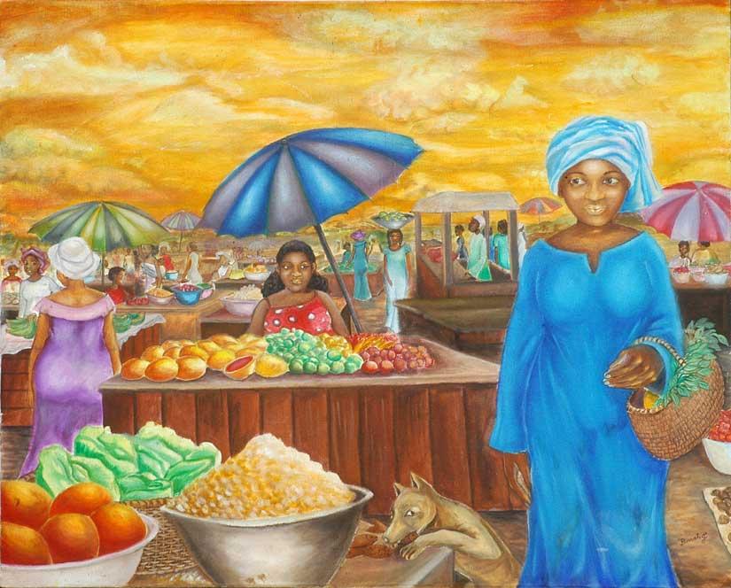 Image de Marché africain