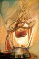 Image de Un patient aspergé sur crâne d'ancêtre
