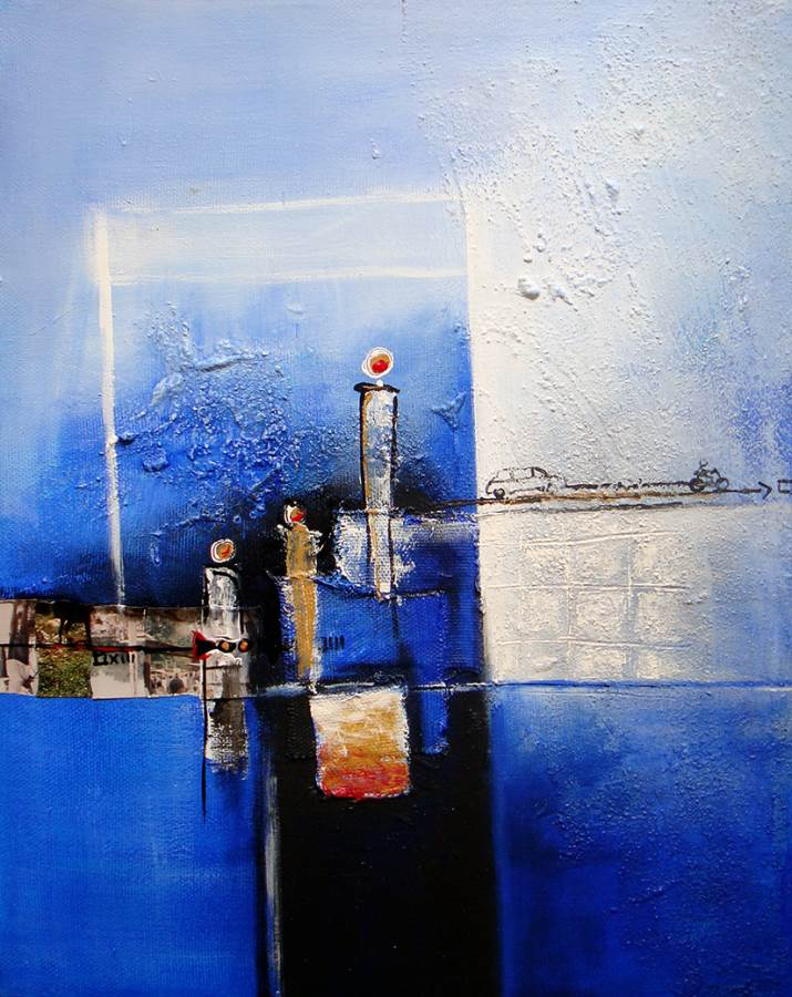 Picture of Reflections on Blue