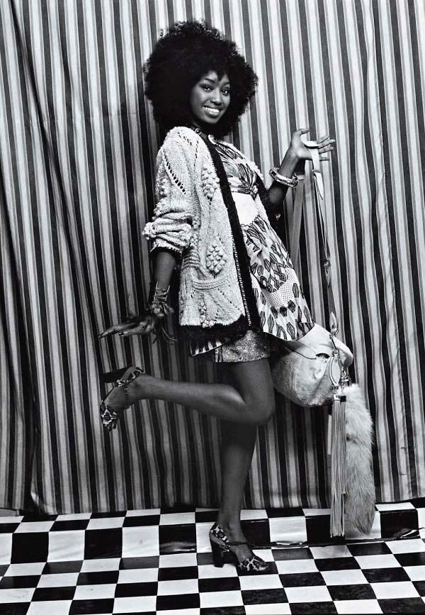 Inna Modja by Malick Sidibe